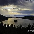 Stormy Emerald Bay by Mitch Shindelbower