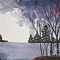 Stormy Lake by Sally Rice