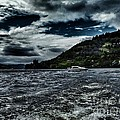 Stormy Loch Ness by Joan-Violet Stretch