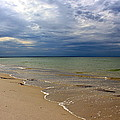 Stormy Mayflower Beach by Amazing Jules