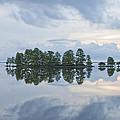 Stormy Morning On The Lake by Bill Swindaman