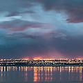 Stormy Night Lights by Gina Herbert