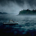 Stormy Night Off The Coast Of Maine by Edward Fielding