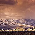 Stormy Reno Sunrise by Janis Knight