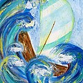 Stormy Sails by Diane Pape