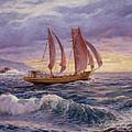 Stormy Sea by Serguei Zlenko