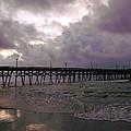 Stormy Sky In Myrtle Beach by Wendy Gertz