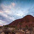 Stormy Sky Over Uluru by Matteo Colombo