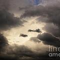 Stormy Sky With A Bit Of Blue by Thomas R Fletcher