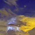 Stormy Stormy Night by Charlotte Schafer