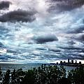 Stormy Sunrise Over Cleveland by Lauren Wiant