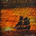 Stormy Sunset by Valerie Lynn