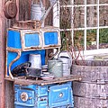 Stove  Appliance Cooker  Kitchen  Antique by L Wright
