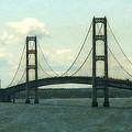Straits Of Mackinac by Michelle Calkins