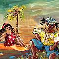 Stranded In Tahiti by Miki De Goodaboom
