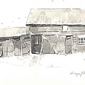 Strang's Barn by HelenWithRobert Ringlee
