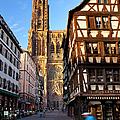 Strasbourg Cathedral by Brian Jannsen