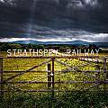 Strathspey Railway by Wolfgang Simm