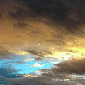 Stratus Clouds At Sunset Bring Serenity by Ed  Riche
