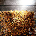Straw Bale In Old Barn by Olivier Le Queinec