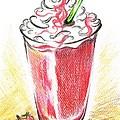 Strawberries And Cream by Teresa White
