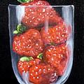 Strawberries In Goblet Sold by Susan Dehlinger