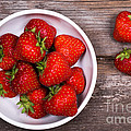 Strawberries by Jane Rix