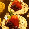 Strawberry Blueberry Tarts by Amy Vangsgard