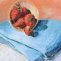 Strawberry Bowl by Regina Davidson