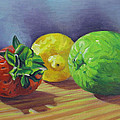 Strawberry Citrus by Kenneth Cobb