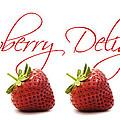 Strawberry Delight by Natalie Kinnear