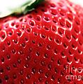 Strawberry Detail by John Rizzuto