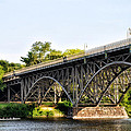 Strawberry Mansion Bridge And The Schuylkill River by Bill Cannon