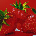 Strawberry Red by Pat Gerace