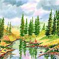 Strawberry Reservoir 2 by Walt Brodis