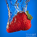 Strawberry Slam Dunk by Susan Candelario