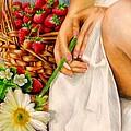 Strawberry Woman by Nancy Almazan