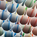 Straws 1 by John Brueske