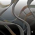 Streamers 10 by Warren Furman