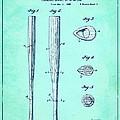 Streamlined Baseball Bat Or The Like Blue Us 2169774 A by Evgeni Nedelchev