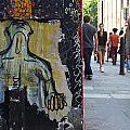 Street Art And Street Scene London by David Resnikoff