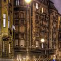 Street Corner Budapest by Nathan Wright