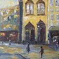 Street Corner by Maria Karalyos