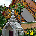 Street Entry To Wat Po In Bangkok-thailand by Ruth Hager