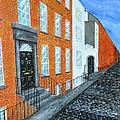 Street In Dublin by Declan Leddy