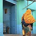 Street In Harar Ethiopia  by Jacek Malipan