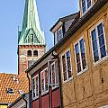 Street In Helsingor Denmark by Sophie McAulay