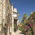 Street In Jaffa Tel Aviv Israel by Jacek Malipan
