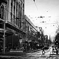 Street In Melbourne  by Sanjeewa Marasinghe