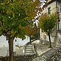 street in old Albaycin in Granada by Guido Montanes Castillo
